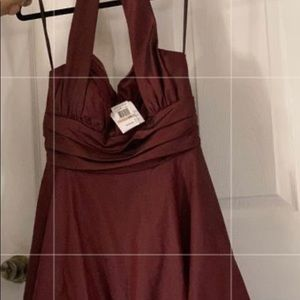 Betsy and Adam halter dress size 12